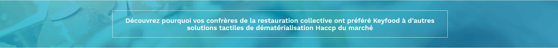 solution dematerialisation haccp
